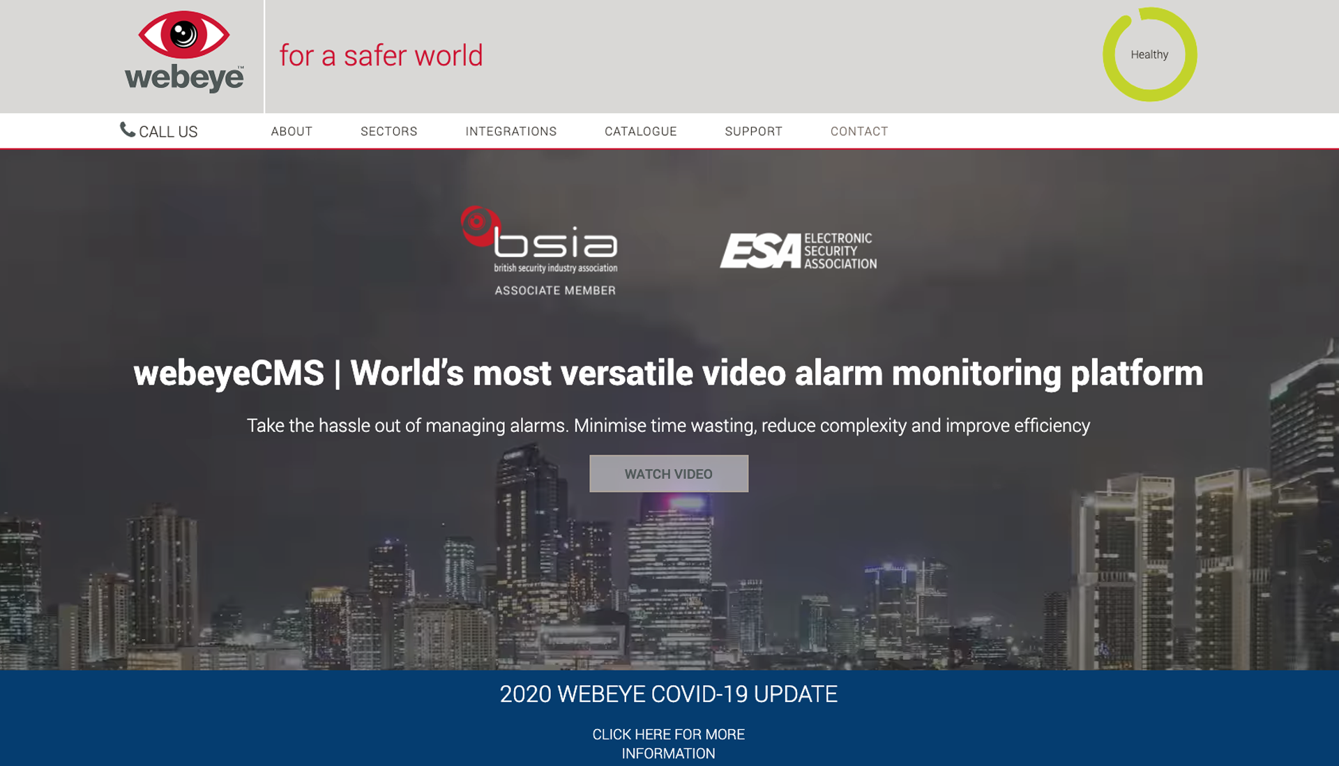 Webeye | World leading solutions for the security industry